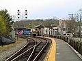 Waltham station outbound platform, April 2016.JPG