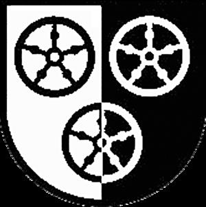 Poppenhausen, Hesse - Image: Wappen Poppenhausen (Wasserkuppe)
