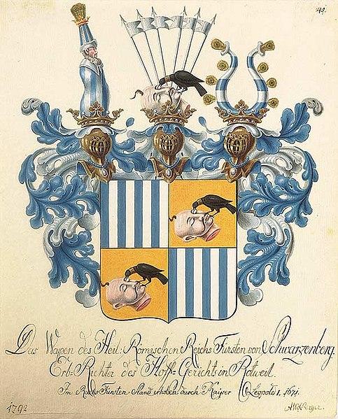Soubor:Wappen der Fürsten von Schwarzenberg 1792.jpg