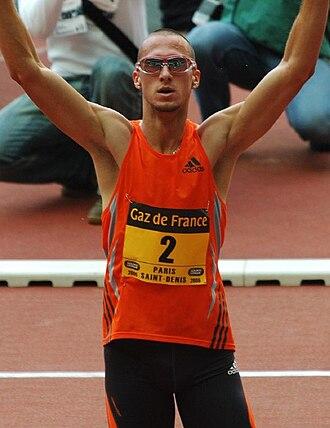 Jeremy Wariner - Image: Wariner Paris 2006.2
