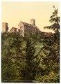 Wartburg, from Eisenach Castle, Thuringia, Germany-LCCN2002720780.tif