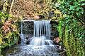 Waterfall Hodders combe, Quantock, Somerset (2314237041).jpg