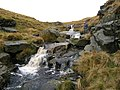 Waterfalls in West Gill - geograph.org.uk - 640646.jpg
