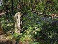 Waymark stone, Unity Wood - geograph.org.uk - 1314848.jpg