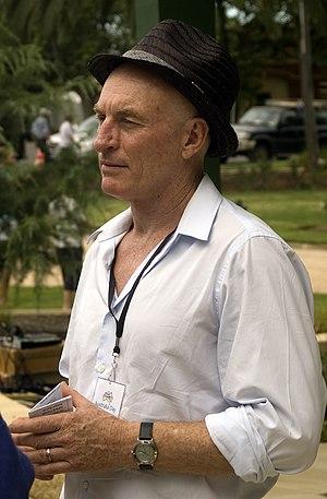 Wayne Pygram - Pygram at an Australia Day ceremony in Wagga Wagga