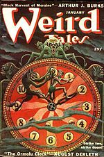 Weird Tales cover image for January 1950