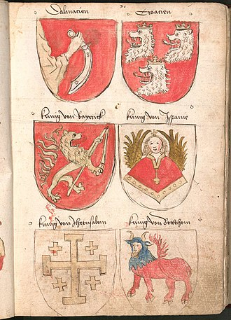 Coat of arms of Croatia - Image: Wernigeroder Wappenbuch 049