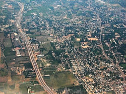 An aerial view of Poonamallee
