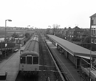 West Monkseaton Metro station - Image: West Monkseaton station geograph.org.uk 531961