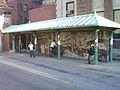 West entrance shelter, East Side Trolley Tunnel, 2006.jpg