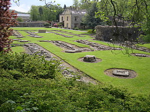 Whalley Abbey - The remains of Whalley Abbey church