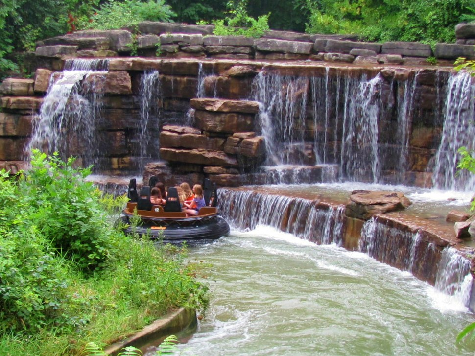 White Water Canyon - Canadas Wonderland