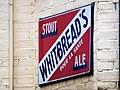 Whitebreads Stout Ale, emaille reclamebord, Bier Reclamemuseum pic2.JPG
