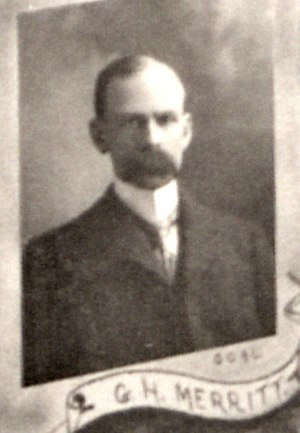 Whitey Merritt - Whitey Merritt in 1900.