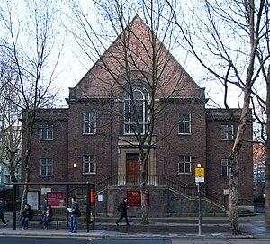 American International Church - Whitfield Memorial Church, home of the American International Church.