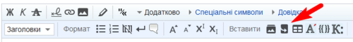 WikiEditor toolbar redirect button UKR.png