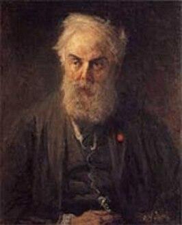 Willem Roelofs, portret door Jozef Israëls