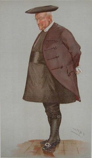 William Alexander (bishop) - Bishop Alexander as caricatured by Spy (Leslie Ward) in Vanity Fair, November 1895