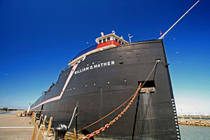 Steamship William G. Mather Maritime Museum - Image: William G Mather
