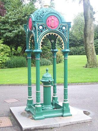 Mowbray Park - Image: William Hall Drinking Fountain