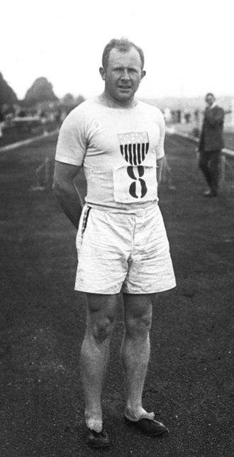 William Hamilton (athlete) - Hamilton in 1908