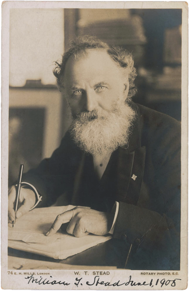 File:William Thomas Stead by Mills, 1905.png