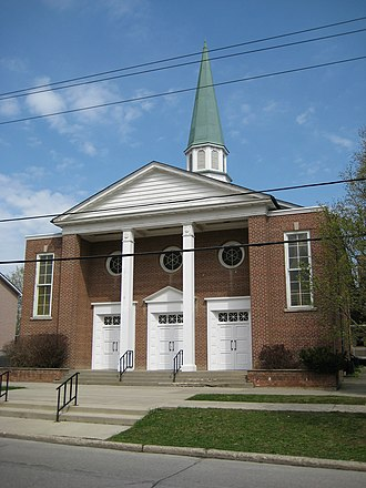 Willowdale, Toronto - The current building for Willowdale United Church was erected in 1954.