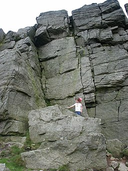 Windgather rocks, top to bottom - geograph.org.uk - 1079503