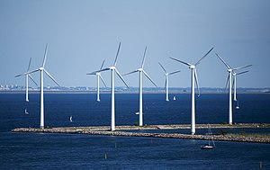 Renewable energy in Denmark - Image: Windmills 4890293313