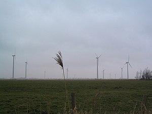 Wesselburen - Windmills near Wesselburen