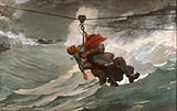 Winslow Homer, American - The Life Line - Google Art Project.jpg