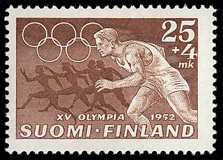1952 Summer Olympics Games of the XV Olympiad, held in Helsinki in 1952