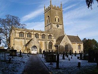 Withington, Gloucestershire - Withington Church