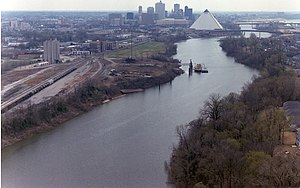 Jeff Buckley - Wolf River Harbor, with Memphis, Tennessee, in background