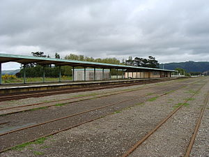 Woodville Railway Station, New Zealand - Image: Woodville railway station 01
