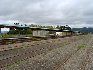Woodville railway station, Manawatu-Wanganui railway station in New Zealand