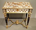 Work Table, c. 1880, made by Maison Alphonse Giroux, Paris, under the direction of Veuve Duvinage, rosewood, ivory, gilt bronze, brass, pewter - Art Institute of Chicago - DSC09879.JPG