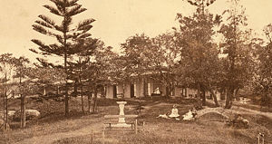 Admiralty House, Sydney - Admiralty House, Kirribilli, Sydney circa 1880 when it was called Wotonga and was owned by Mr Thomas Cadell