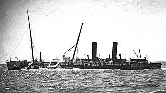 RMS Orizaba - The wreck, c.1910