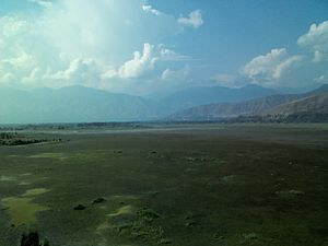 Wular Lake - Wular Lake seen from Saderkote Park