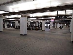 Wynyard railway station, Sydney - Station concourse