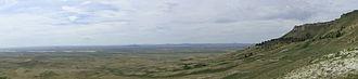 Red Desert (Wyoming) - Steamboat Mountain, overlooking the Killpecker Sand Dunes, provides habitat for desert elk.