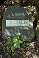 Yakushima National Park Ohkonotaki Waterfall sign.jpg