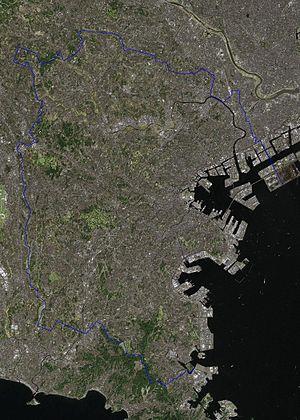 Yokohama Landsat