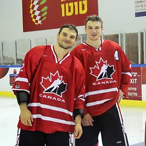 2013 Maccabiah Games - Zach Hyman and brother Spencer helped Team Canada win a Gold Medal at the Games.