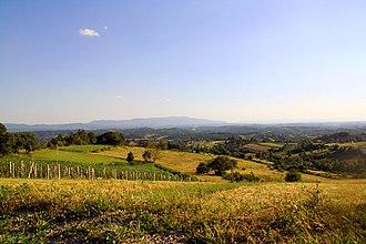 Hrvatsko Zagorje - Typical Zagorje panorama
