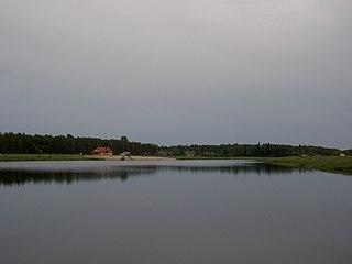 Repczyce Village in Podlaskie Voivodeship, Poland