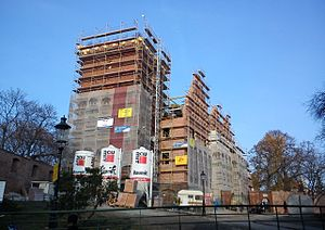 Royal Castle, Poznań - Re-construction in 2011