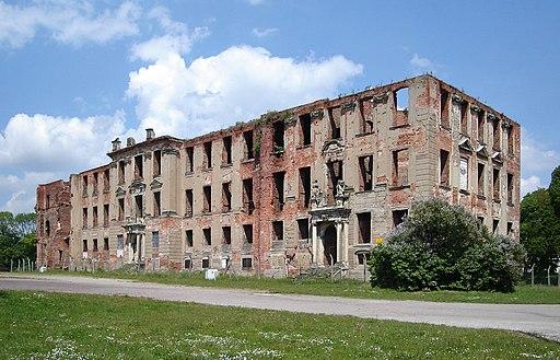 Zerbst Schlossruine