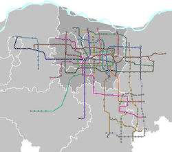 Zhengzhou Metro map 2050 plan - geographical.png